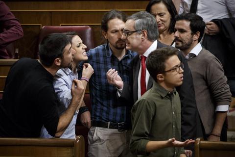 POOL Alberto Di Lolli 29/10/16, Madrid. Congreso de los Diputados. Sesion de investidura de Mariano Rajoy como Presidente del Gobierno.